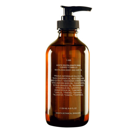 REVITALISING OIL FOR BODY AND HAIR – 250ML