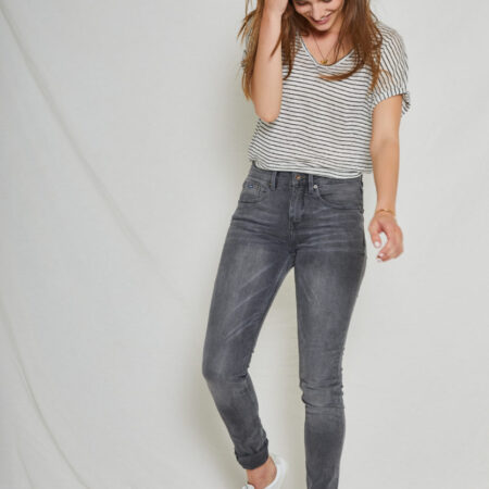 CAREY SKINNY HIGH REBEL GREY
