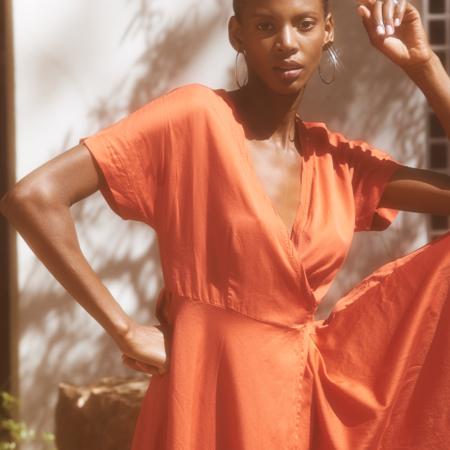 Calypso Wrap Dress