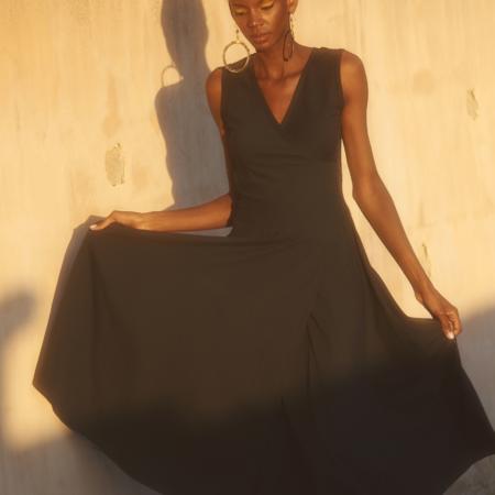 Veronika Sleeveless Long Dress